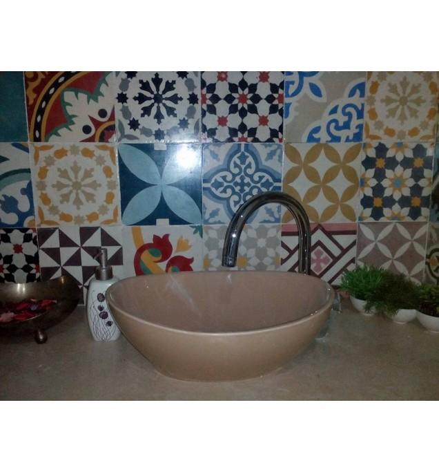 carreaux ciment du vasque